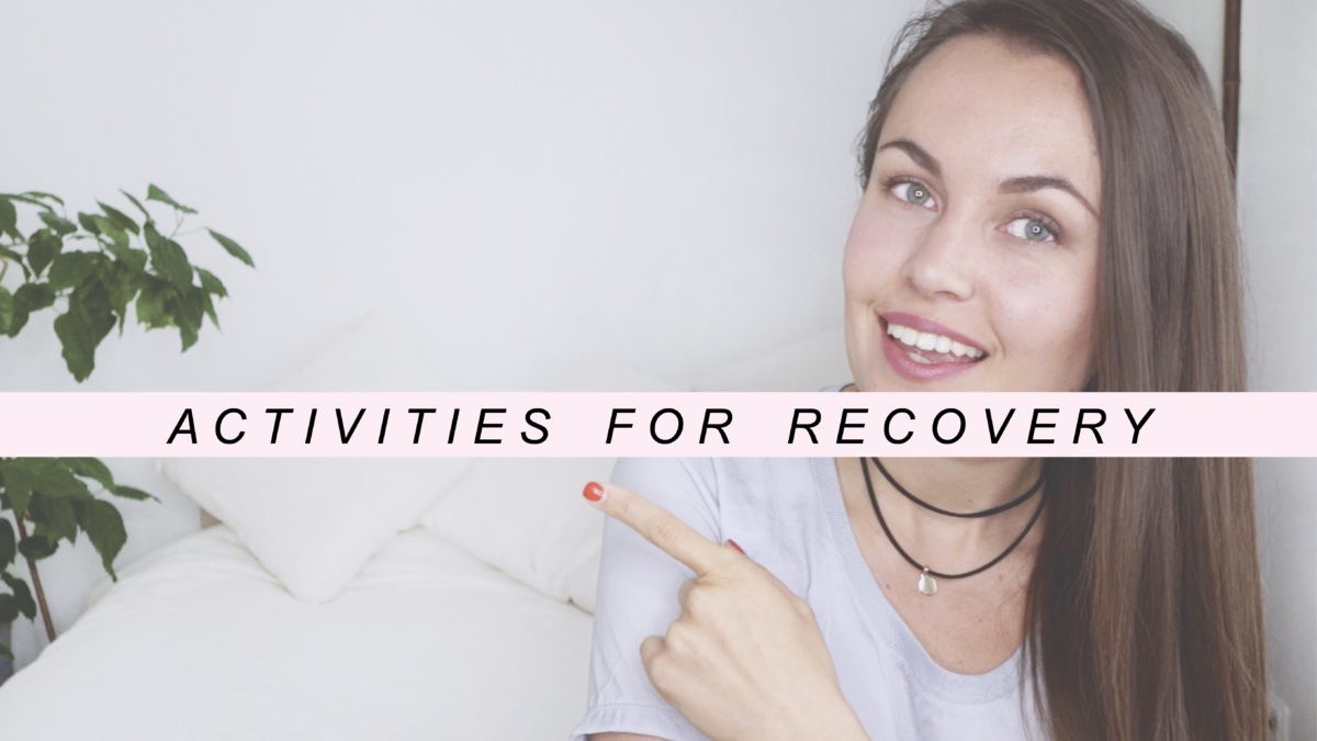activities for eating disorder recovery