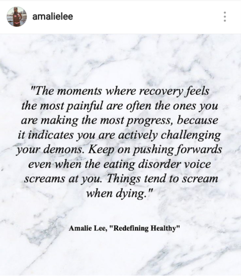 Recovery Quotes | 50 Best Quotes On Instagram For Eating Disorder Recovery Follow