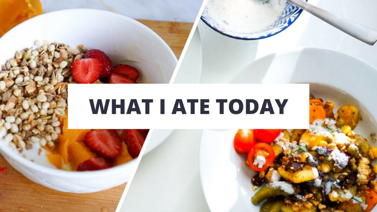 what i ate