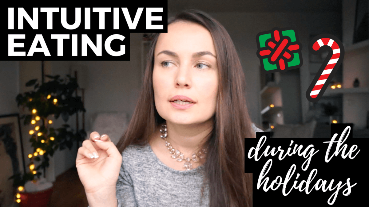 intuitive eating during holidays