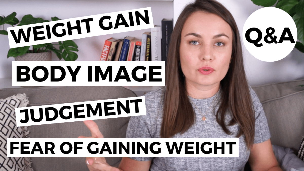 body image and weight gain