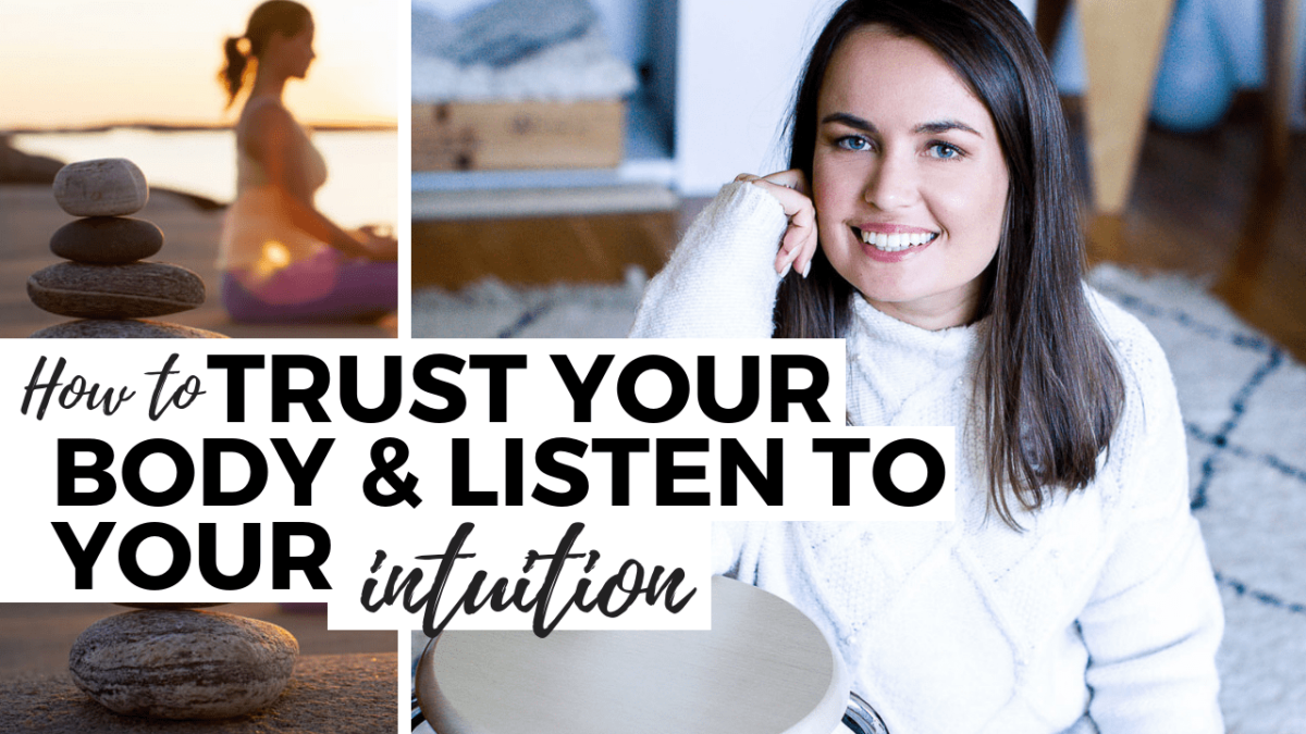 how to trust your body