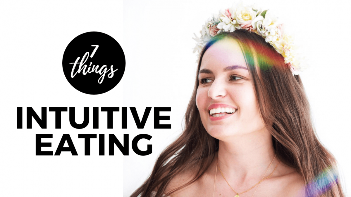 7 Things I Learned From Practicing Intuitive Eating