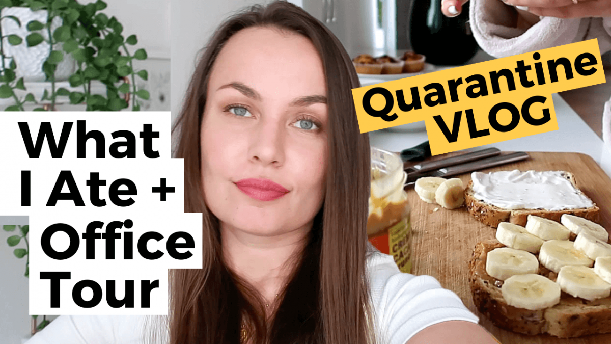 quarantine vlog what i ate