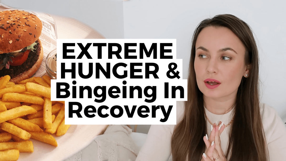 extreme hunger and binge eating